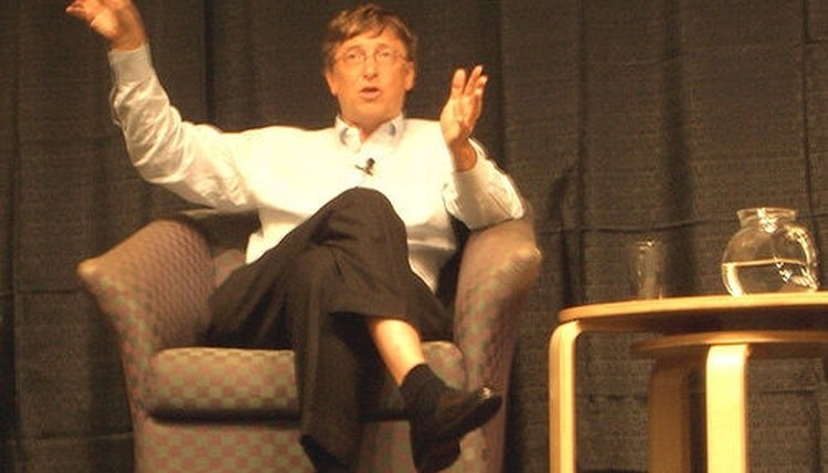 Bill Gates of the Bill & Melinda Gates Foundation, which is the one of the best-known foundations in the world.