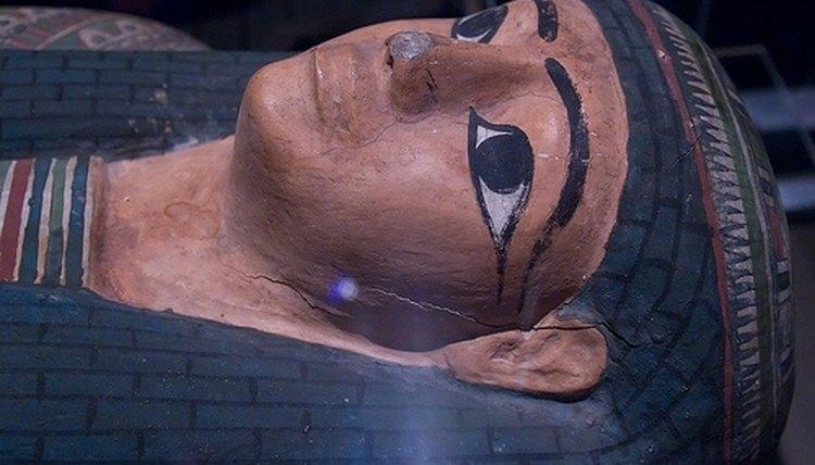 Ancient Egyptian Sarcophagus