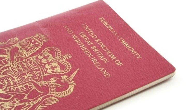 your British passport, Canada