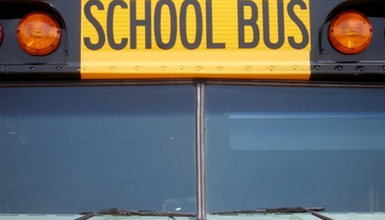 When students ride the school bus, they need to learn responsible safety procedures to minimize dangers associated with a moving vehicle.