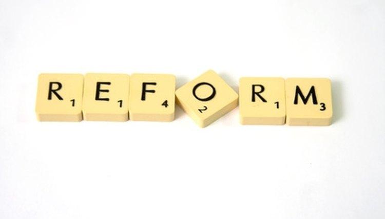 Educational change often means eductional reform.