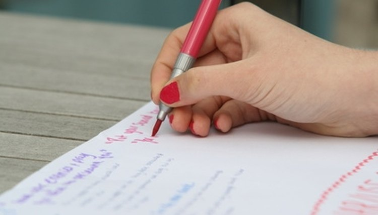 Procedural writing helps young students learn to follow directions.