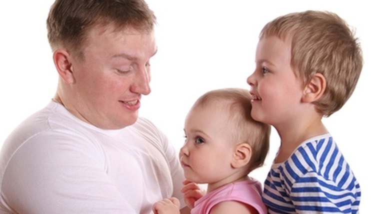 An unmarried father's rights in Georgia, such as custody and visitation, are contingent on establishing paternity.