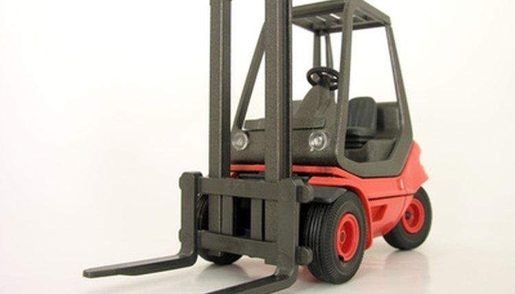 Forklift training courses.