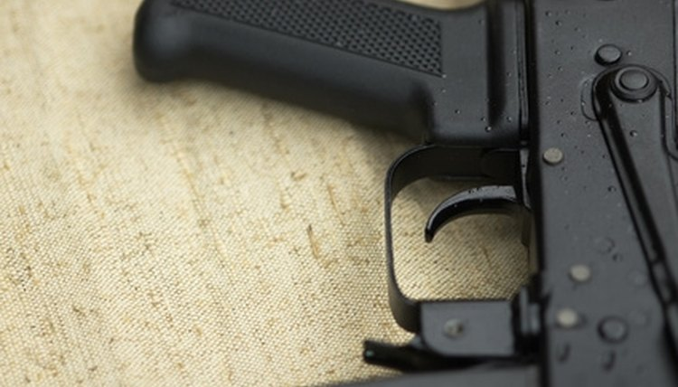 Pellet guns can be dangerously confused with their real counterparts.