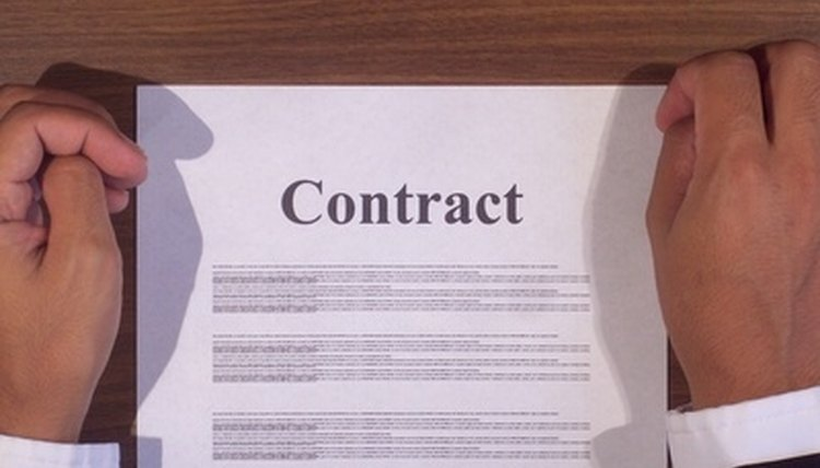 A contract, an agreement, what, one party