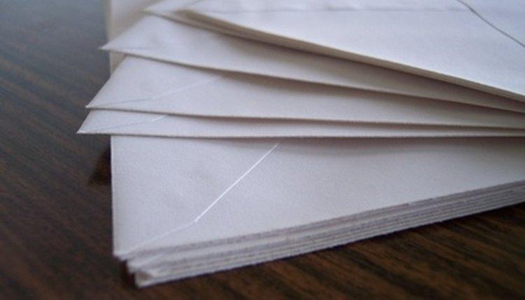 The post office enforces size regulations for envelopes.