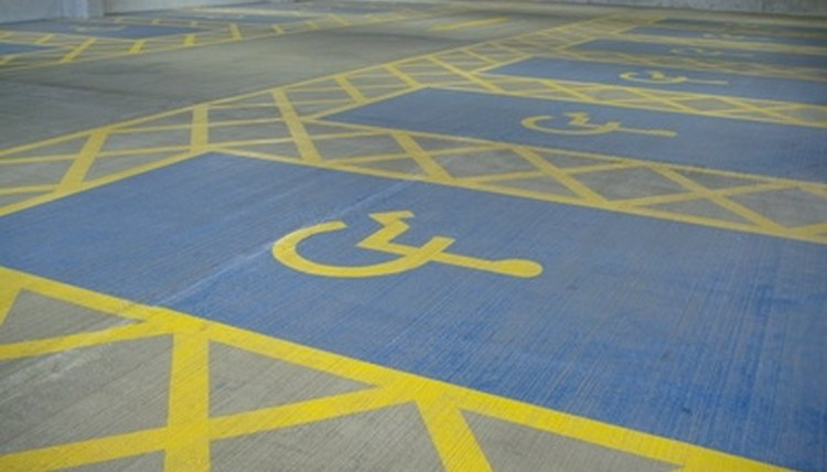 Maintaining accessible parking can be a challenge for public facilities during the winter months.