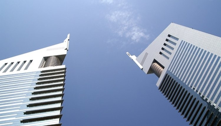 The Dubai Towers are among the architectural wonders American students experience in Dubai.