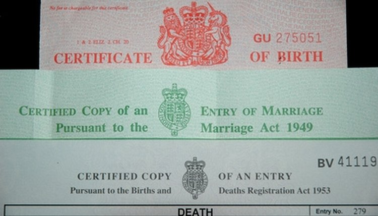 You can use a certified copy of your birth certificate as proof of your identity.