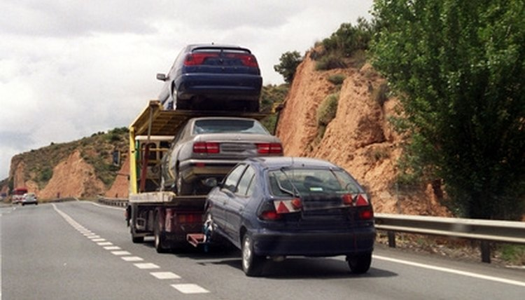 Towing a car between locations is safe and legal.
