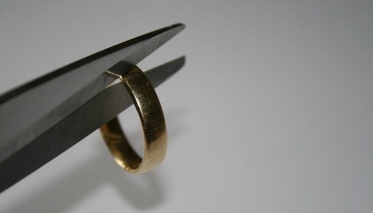 Divorce disputes are often rectified through civil agreements.