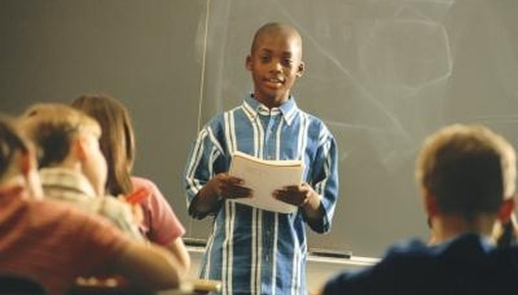 Teach Kids to Give an Oral Presentation