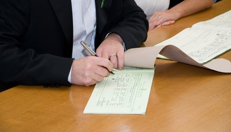 Parties should sign the amendment in front of a notary public.