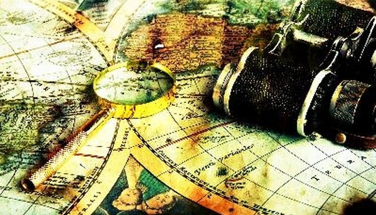 Teach children about maps by having them make their own.