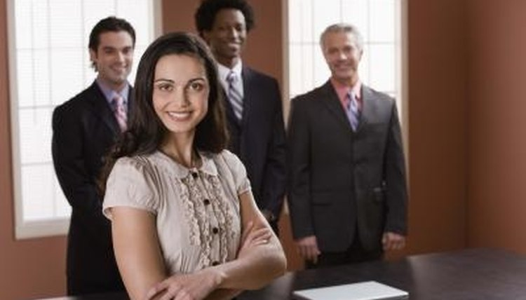 Corporate professionals typically obtain an MBA degree.