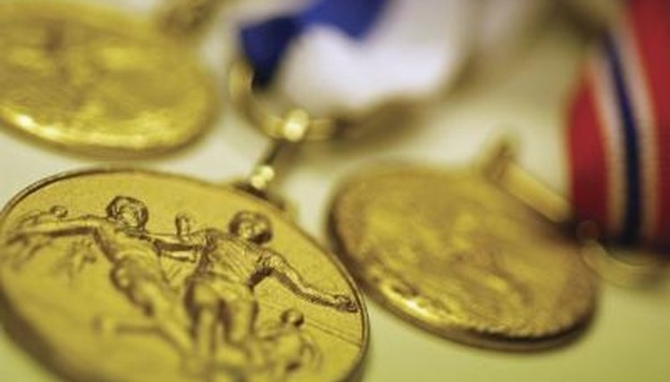 The ancient Greeks held the first Olympic games.