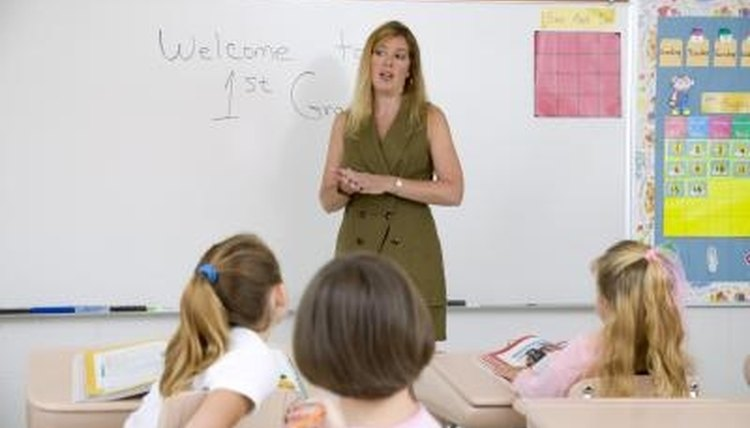 Try several teaching methods to find the method best for your classroom.