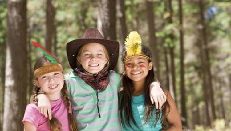 Dramatic play allows children to act out different roles.