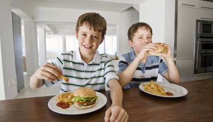 Students are often unaware of the nutritional value of their meals.