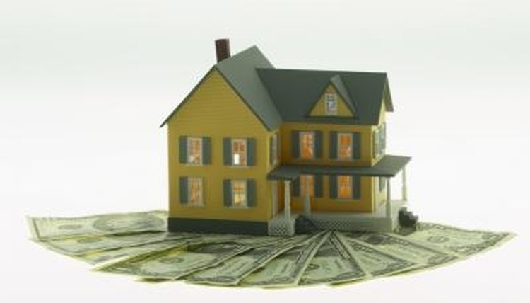 A lien is imposed on property to secure payment of some kind.