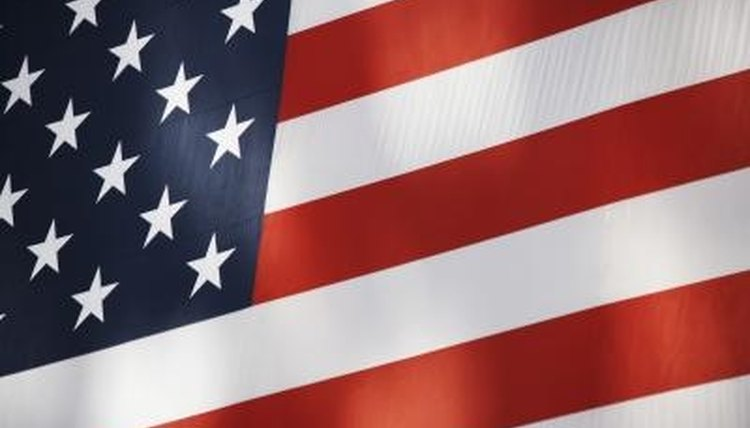 Follow proper presentation procedures for U.S. Flag display during ceremonies.