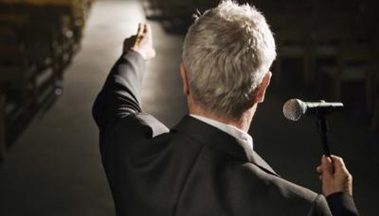 Know the difference between speeches and lectures to keep your audience listening.