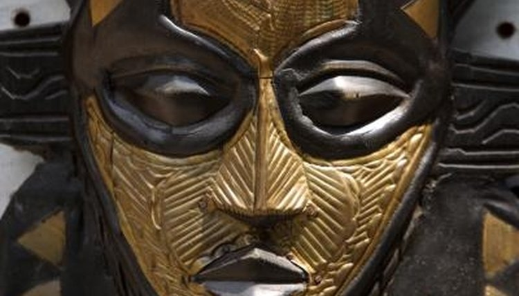 All elements of African mask design represent something of importance to a community.