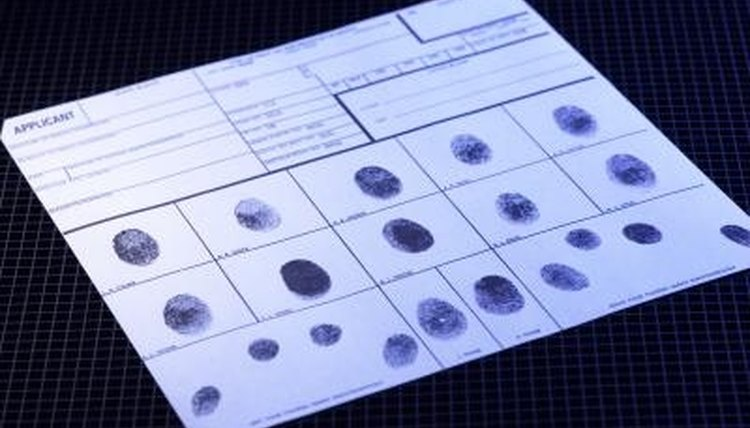 Your criminal history will show if you have ever been arrested by the police.