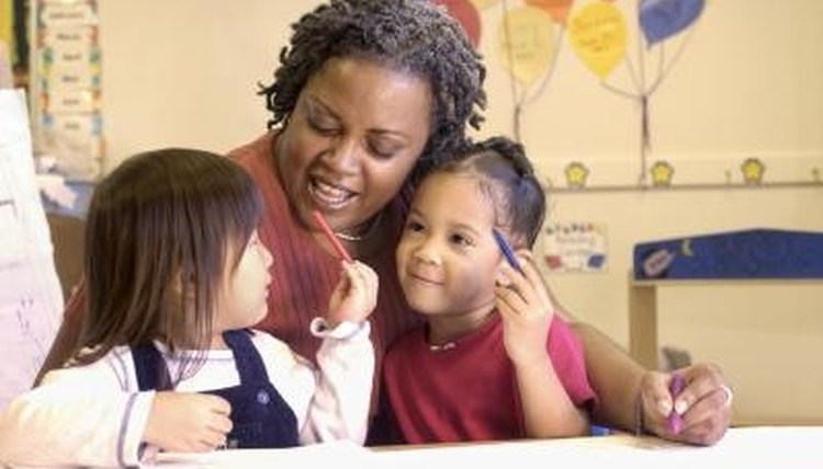 Child Development Associates or CDAs have been trained and authorized to help teach young children.