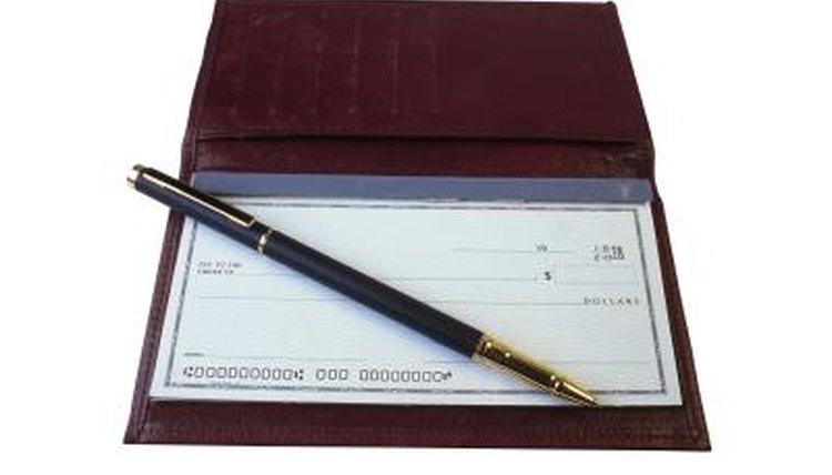 Track your checking account balance to avoid writing bad checks.