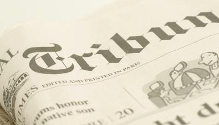 The op-ed page plays an important role in democratic societies.