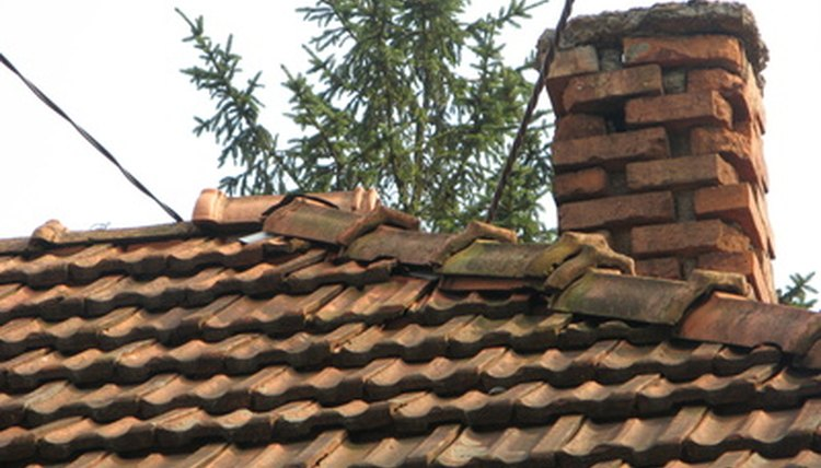 Roofing workers deal with steep surfaces and tall heights.