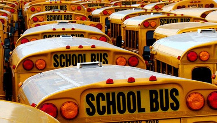 Shorter school week means fewer round trips per week—per bus.