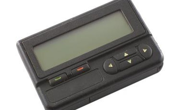 Electronic pagers can be helpful to students with behavioral disorders.