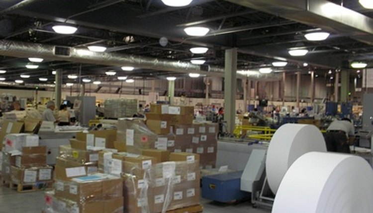 Warehouses must be kept neat and orderly.