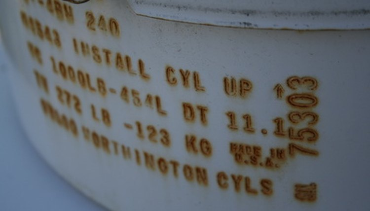 Diesel storage tanks must be labeled so users know how to treat them.