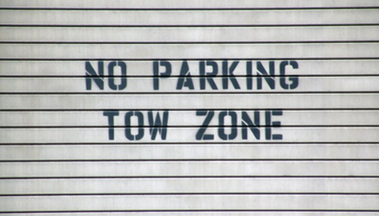 In Minnesota, a vehicle may be impounded immediately if it is parked on private property where a no-parking sign is posted.