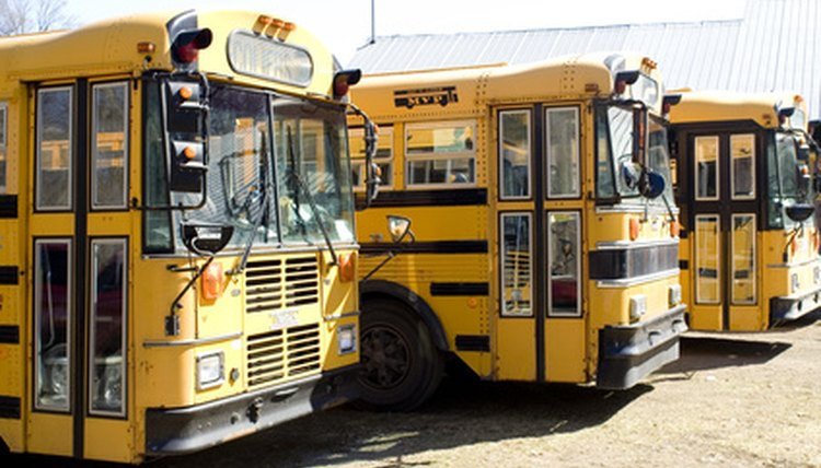 Managing student behavior on the school bus involves both the bus driver and the school's teachers.