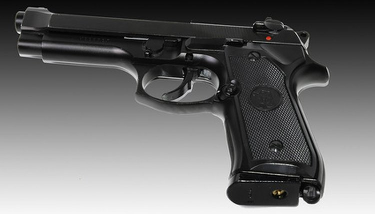 Airsoft gun modeled after the Beretta M9A1