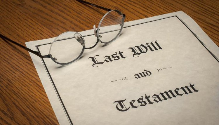 Executors control accounts in the name of the deceased.