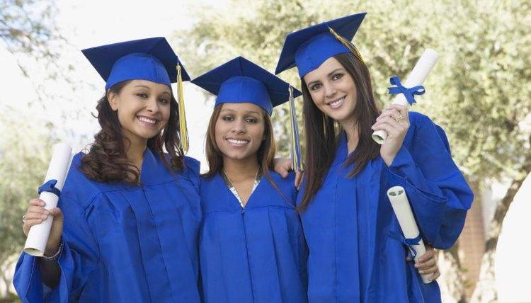 How To Wear Graduation Regalia Stole Cord Synonym