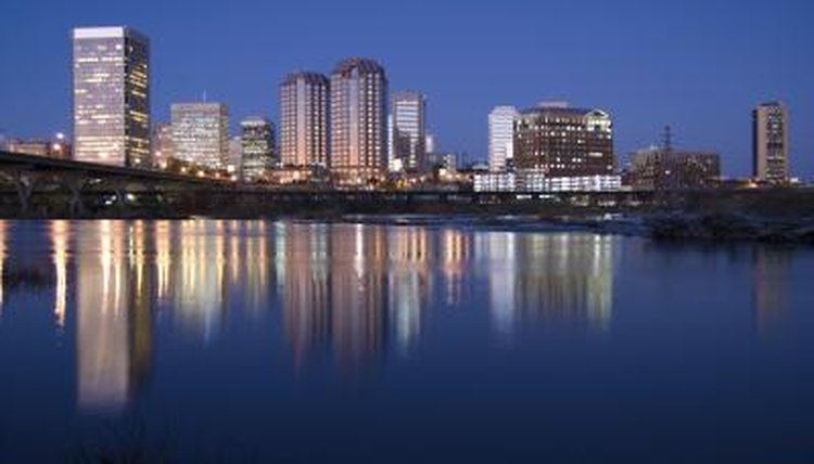 Richmond is the state capital of Virginia.