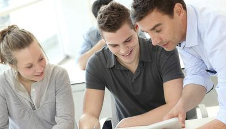 Students can work in groups to weigh possible outcomes of a scenario.