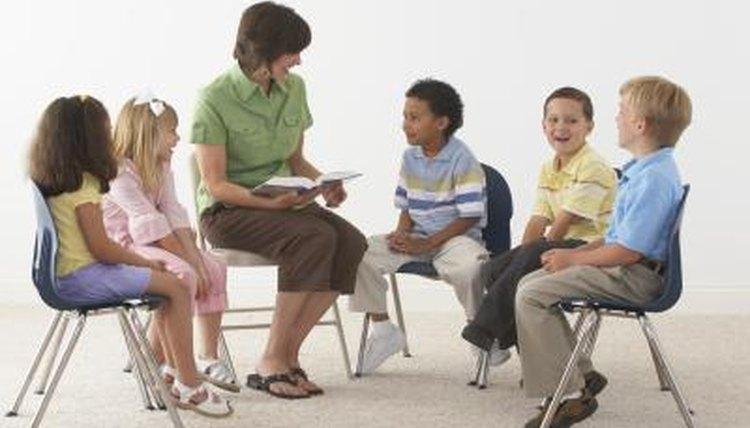 Teachers set goals to help children understand what they read.