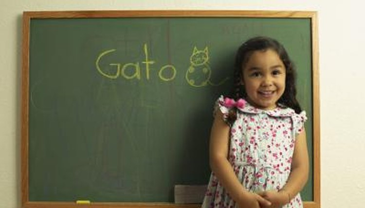 You won't need a chalkboard for online Spanish lessons.