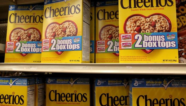 Cheerios is one of more than 250 products that offers Box Tops for Education.