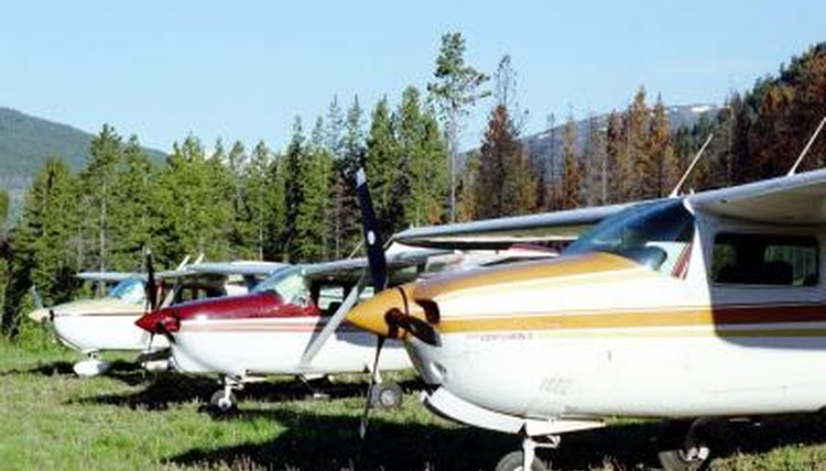 Purchase abandoned aircraft at government sales.