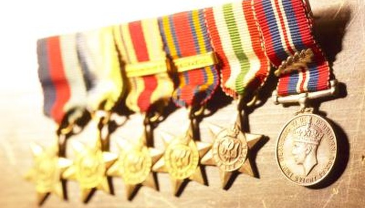 How to Find Earned Military Medals