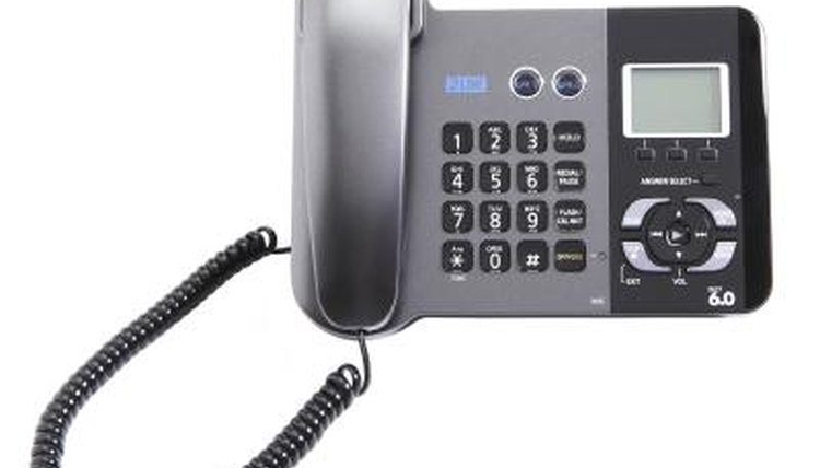 A telephone may develop problems because of electronic bugging.